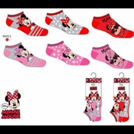 Minnie egér 3 db-os zokni szett